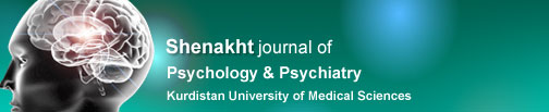 Shenakht journal of psychology & psychiatry